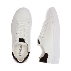 Baskets blanches / noires, Chaussures, 172621209EPBINE035, 003 preview