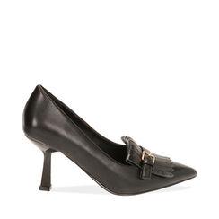 Escarpins noirs, talon 8 cm , Primadonna, 184837909EPNERO036, 001a