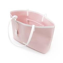 Maxi bag nude in eco-pelle, Primadonna, 133764106EPNUDEUNI, 004 preview