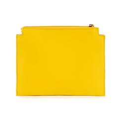 Pochette jaune en simili-cuir, Sacs, 155122634EPGIALUNI, 003 preview