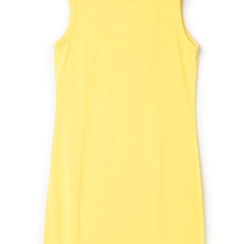 Mini-dress giallo con scollo sul retro, Primadonna, 13F750832TSGIALL, 002a