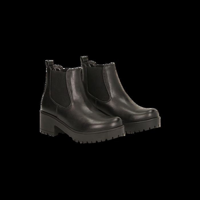 Alta Cod122801530epnero Neri Boots Chelsea Con Suola Pk8N0OXwn