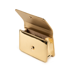 Borsa oro effetto mirror, Primadonna, 155122414SPOROGUNI, 004 preview