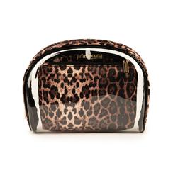 Trousse leopard print in pvc, Primadonna, 155122760PVLEOPUNI, 001 preview
