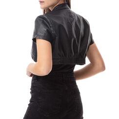 Giacca corta nera, Primadonna, 176518010EPNEROL, 002 preview