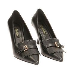 Escarpins noirs, talon 8 cm , Primadonna, 184837909EPNERO036, 002a