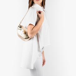 Petit sac doré en simili-cuir brillant, Sacs, 155122722LMOROGUNI, 002 preview