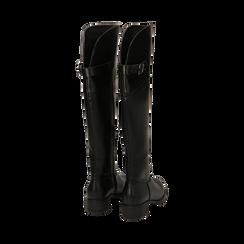 Stivali overknee neri, tacco 4 cm , Primadonna, 160621687EPNERO035, 003 preview