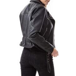 Biker jacket nera , Primadonna, 176520618EPNEROL, 002a