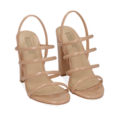 WOMEN SHOES SANDAL EP-PATENT NUDE, Chaussures, 152760849VENUDE036, 002a