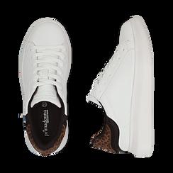 Sneakers bianco/leopard , Primadonna, 162602011EPBILE035, 003 preview