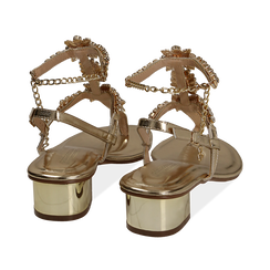 WOMEN SHOES SANDAL LAMINATED OROG, PROMOTIONS, 154927101LMOROG036, 004 preview