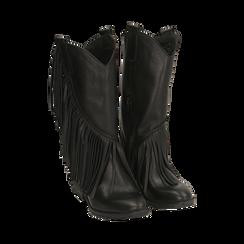 Camperos neri in pelle di vitello, Primadonna, 168989100VINERO037, 002 preview