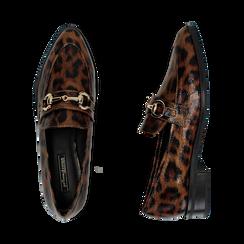 Mocasines con estampado de leopardo, Primadonna, 164964141EPLEMA037, 003 preview