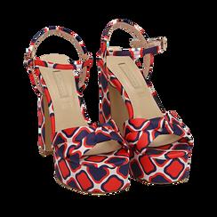 WOMEN SHOES SANDAL SATIN ROSS, Chaussures, 152133401RSROSS036, 002a
