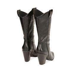 Camperos noirs, talon de 9,5 cm, Primadonna, 172139023EPNERO036, 003 preview