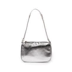 Borsa a tracolla argento laminata, Primadonna, 155127201LMARGEUNI, 001 preview