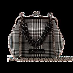 Pochette vintage in tweed, Saldi Borse, 122701280TSBINEUNI, 001 preview