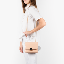 Petit sac nude en simili-cuir verni, Sacs, 155108225VENUDEUNI, 002 preview