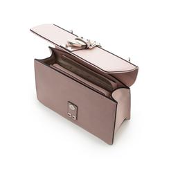 Borsa media nude in eco-pelle con borchie, Borse, 131992421EPROSAUNI, 004 preview
