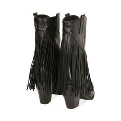 Santiags noirs, talon 8,5 cm, Primadonna, 172139014EPNERO035, 003 preview