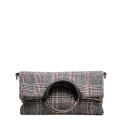 Pochette in tweed, Primadonna, 122900122TSNEGRUNI, 001a
