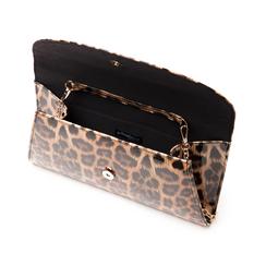 Pochette leopard in vernice, Borse, 145122502VELEOPUNI, 004 preview