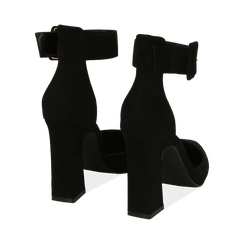 Décolleté nere in microfibra, tacco 10,50 cm , Primadonna, 164822753MFNERO036, 004 preview