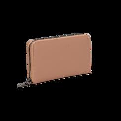 Portafoglio nude in ecopelle  con 14 vani, Saldi, 122200896EPNUDEUNI, 002 preview