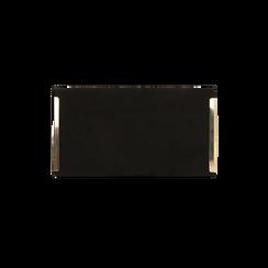 Borsa piccola nera in microfibra , IDEE REGALO, 165123002MFNEROUNI, 003 preview