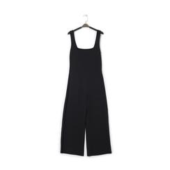 Jumpsuit nera con bretelline, Primadonna, 13F720699TSNERO, 001 preview