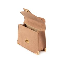 Mini bag nude in microfibra, Primadonna, 155122533MFNUDEUNI, 004 preview