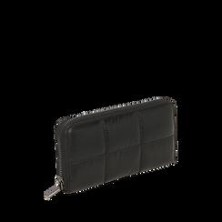 Portefeuille noir en tissu, Primadonna, 165122519TSNEROUNI, 002a