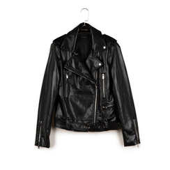 Biker jacket nera stampa pitone, Primadonna, 156501164PTNEROL, 003 preview
