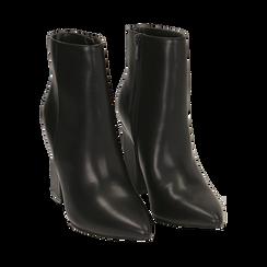 Ankle boots neri, tacco 10 cm , Primadonna, 164822754EPNERO035, 002 preview