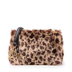 Borsa leopard in eco-fur, Borse, 141918834FULEMAUNI, 001a
