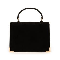 Mini bag nera in microfibra, Primadonna, 155122533MFNEROUNI, 003 preview