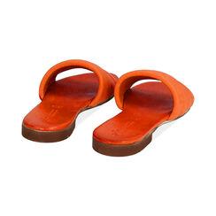 Ciabatte arancio in pelle, Primadonna, 177204903PEARAN035, 004 preview