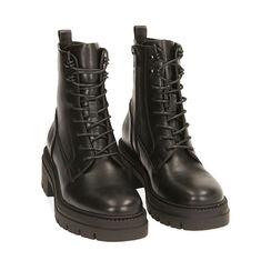 Rangers noirs, talon 6 cm, Primadonna, 180626006EPNERO035, 002a