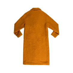 Cappotto lungo giallo lavorazione shearling, Abbigliamento, 12G750756TSGIAL, 006 preview