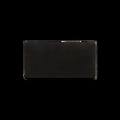 Portefeuille noir en microfibre, IDEE REGALO, 165131611MFNEROUNI, 004 preview