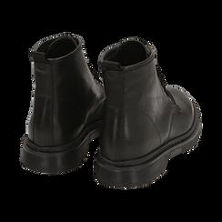 Anfibi neri in pelle di vitello, Primadonna, 148901810VINERO041, 004 preview