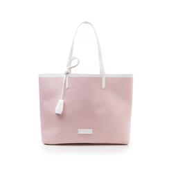 Maxi bag nude in eco-pelle, Primadonna, 133764106EPNUDEUNI, 001 preview
