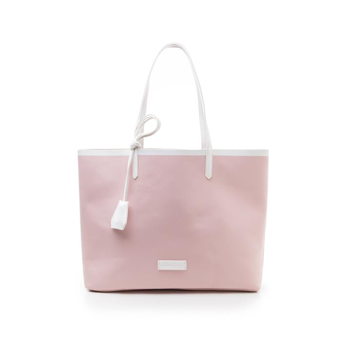Maxi bag nude in eco-pelle, Primadonna, 133764106EPNUDEUNI