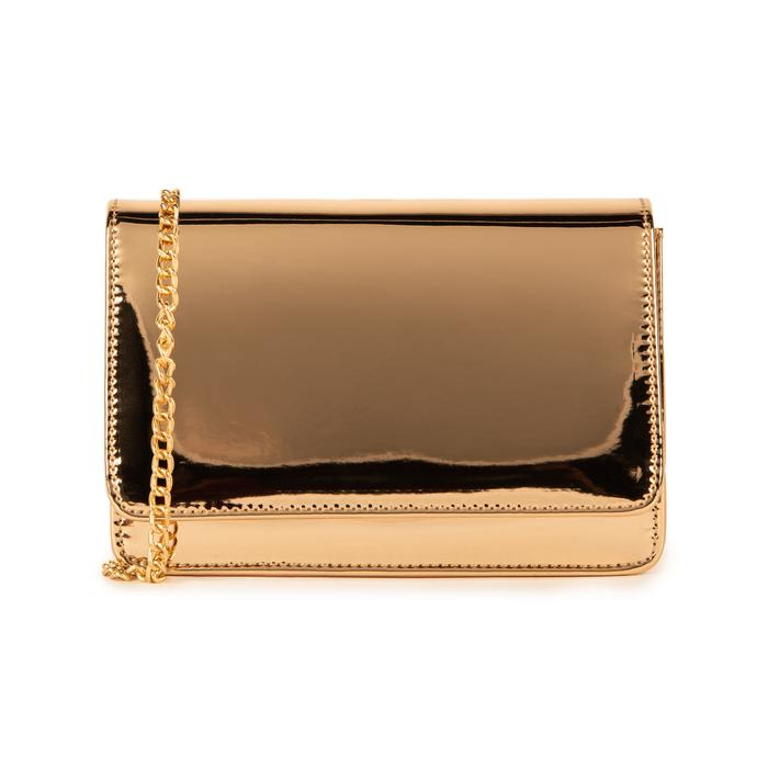 Borsa oro rosa effetto mirror, Primadonna, 155122414SPRAORUNI
