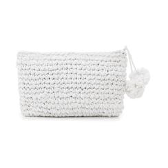 Pochette mare bianca in paglia intrecciata, Primadonna, 134504239PGBIANUNI, 003 preview