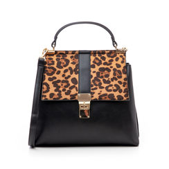 Borsa leopard in eco-pelle, Borse, 14D984147EPLEMAUNI, 001 preview