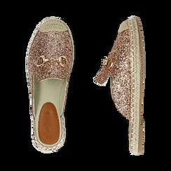 Slippers oro rosa glitter, Primadonna, 154951159GLRAOR036, 003 preview