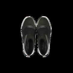 Sneakers verdi con tacco basso, Scarpe, 121617843LYVERD, 004 preview