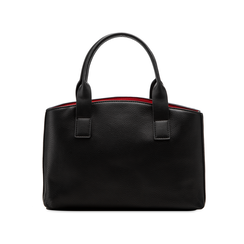 Mini bag nero-rossa in ecopelle, Saldi Borse, 122323219EPNERSUNI, 002 preview
